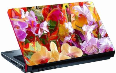 virtual prints flower image digitally printed Laptop Decal 15