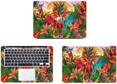 Swagsutra Parrot Colors Vinyl Laptop Decal 11