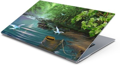 Lovely Collection Jungle River Painting Vinyl Laptop Decal