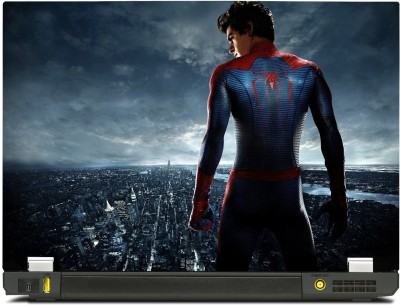 Skinkart Spiderman Overlooking The City Vinyl Laptop Decal 17