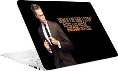 AV Styles Awesome Barney Laptop Skin Vinyl Laptop Decal 15.6
