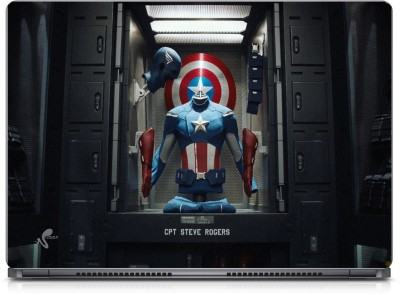 Seamen Cap. Steve Rogers Vinyl Laptop Decal 15.6