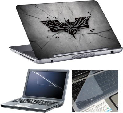 anycreation Batman Symbol HD Vinyl Laptop Decal 15