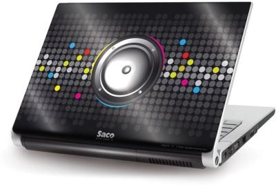 Saco Metallic Skin-18 Metallic PET Laptop Decal 15.6