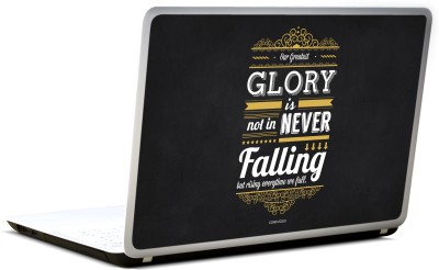 Lab No. 4 Confucius Inspirational Typography Quote Vinyl Laptop Decal 17