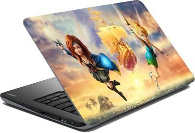 Posterhunt SVshi5137 Tinker Bell Cartoon Laptop Skin Vinyl Laptop Decal 14.1