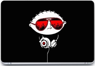 Trendsmate Music Skull 3M Vinyl and Lamination Laptop Decal 15.6