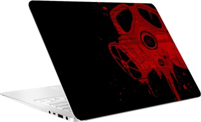 AV Styles Red Mask Laptop Skin by AV Styles Vinyl Laptop Decal