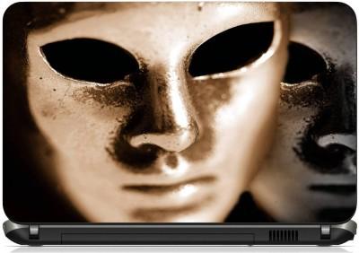 Print Shapes Mask Vinyl Laptop Decal 15.6