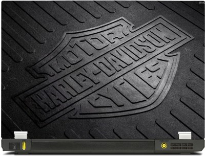 SkinShack Harley Davidson Embossed (17 inch) Vinyl Laptop Decal 17
