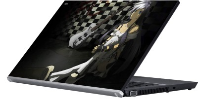 Eclipse Lonely Girl Vinyl Laptop Decal 15.6