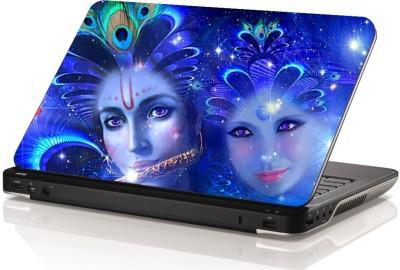 Swati Graphics SGLS041 Cool Radha Krishna Vinyl Laptop Decal 15.6