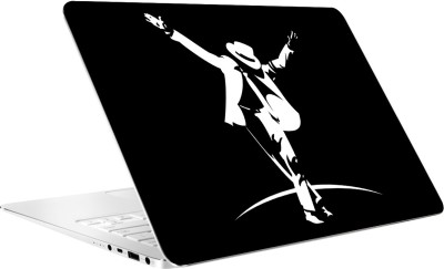 AV Styles Black and White MJ Laptop Skin by AV Styles Vinyl Laptop Decal 15.6