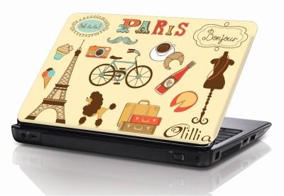 BSEnterprise Paris Ooh La La Vinyl Laptop Decal