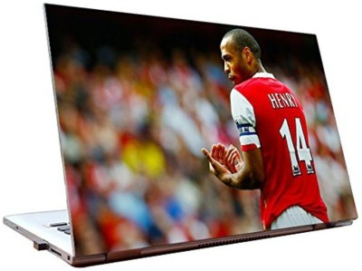 Dealmart Thiery Henry - Arsenal - Football - HD Quality Vinyl Laptop Decal 15.6