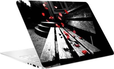 AV Styles Romantic Leaf Vinyl Laptop Decal 15.6