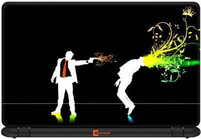 Ownclique Lean to Blow the Mind Vinyl Laptop Decal 13.3