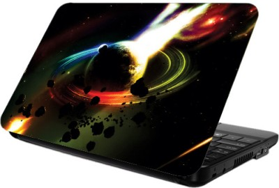Printland Dark Black Vinyl Laptop Decal 13