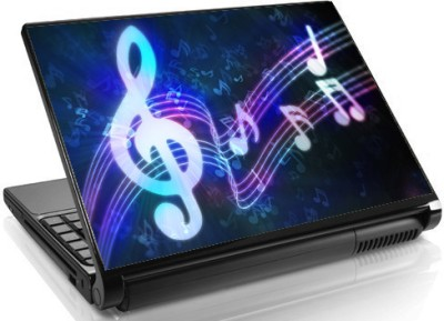 Theskinmantra Glow with Music Skin Vinyl Laptop Decal 15.6
