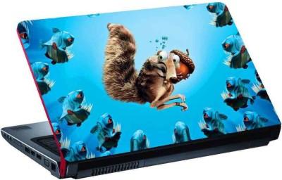 virtual prints play squirrel digitally printed Laptop Decal 15