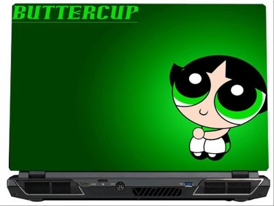 SkinShack Buttercup - Powerpuff Girls (13.3 inch) Vinyl Laptop Decal 13.3