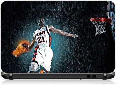 VI COLLECTIONS FIRE BALL THROWER PRINTED VINYL Laptop Decal 15.6