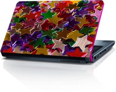 Shopmillions Colurfull Stars LS2176 Vinyl Laptop Decal 15.6