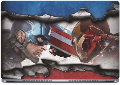 Marvel Civil War Vinyl Laptop Decal 15.6