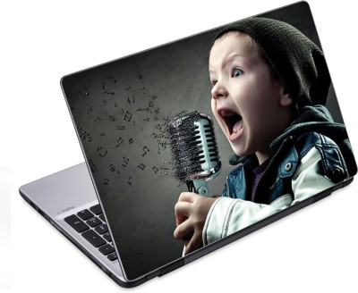 ezyPRNT Little Rockstar (14 to 14.9 inch) Vinyl Laptop Decal 14
