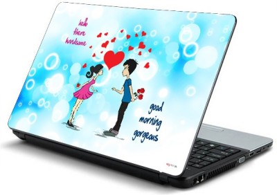 ezyPRNT Cute Matching Couple Vinyl Laptop Decal 15
