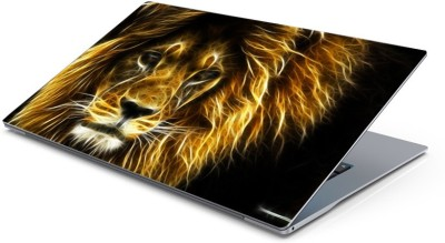Lovely Collection Fire Lion Vinyl Laptop Decal