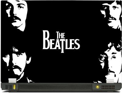 Skinkart Beatles Group Dark Vinyl Laptop Decal (All Laptops with screen size upto 13.3 inch)