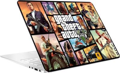 AV Styles Grand Theft Auto Five By Av Styles Vinyl Laptop Decal