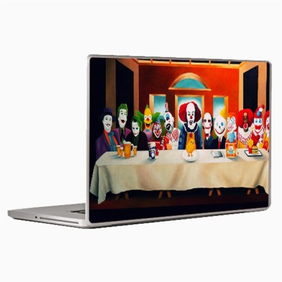 Theskinmantra Joker party Laptop Decal 13.3