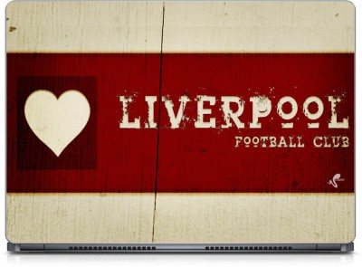 Seamen Liverpool Love Vinyl Laptop Decal 15.6