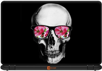 Ownclique Punk Skull Retro Glasses Vinyl Laptop Decal 17