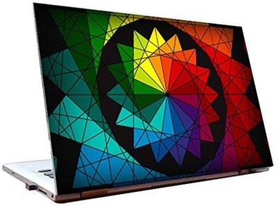 Dealmart Chakra - Trippy - Psychadellic - Abstract - HD Quality Vinyl Laptop Decal 15.6