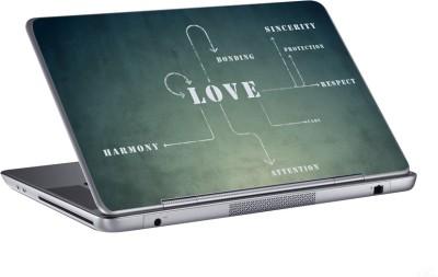 AV Styles love harmony bonding skin Vinyl Laptop Decal 15.6