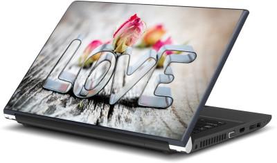 Artifa Love Rose Vinyl Laptop Decal 15.6