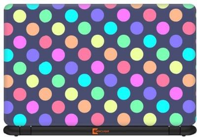 Ownclique Pop Polka Dots Vinyl Laptop Decal