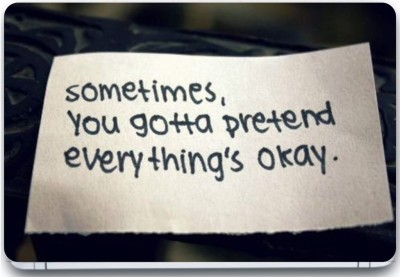 Trendsmate Pretend Everything's Okay 3M Vinyl and Lamination Laptop Decal