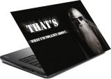 hifex quote old man vinyl Laptop Decal 1...