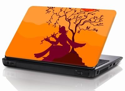 BSEnterprise Krishna with flute Vinyl Laptop Decal 15.6