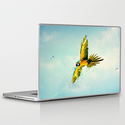 Theskinmantra Flyte PolyCot Vinyl Laptop Decal 15.6