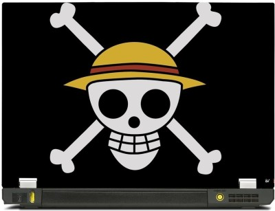 Skinkart Pirate Graphics Laptop Skin Type 6 (Screen Size 17 inch) Premium quality Imported Vinyl Laptop Decal 17