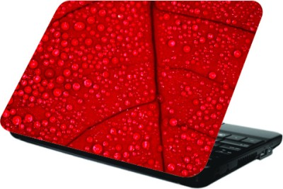 Printland Red Leaf Laptop Skin Vinyl Laptop Decal
