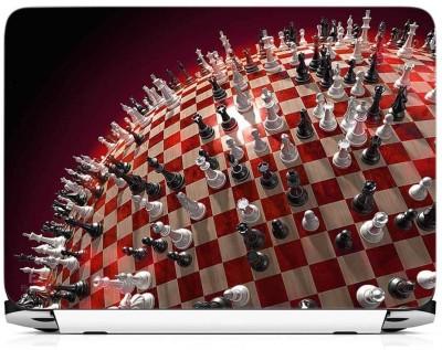 Print Gallery Chess Pattern Vinyl Laptop Decal 15.6