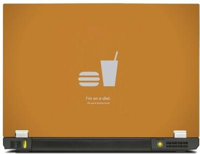 Skincentral Skinkart I Am On Diet Vinyl Laptop Decal 15.6