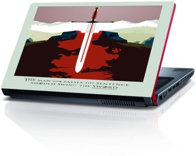 Shopmillions Master Sword Vinyl Laptop Decal 15.6