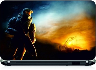 NG Stunners Master Chief Vinyl Laptop Decal 15.6